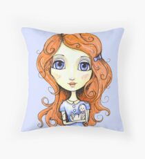 My Sweet Bunny Throw Pillow
