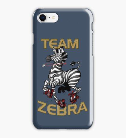 Team Zebra iPhone Case/Skin