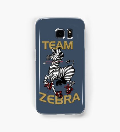 Team Zebra Samsung Galaxy Case/Skin