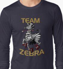 Team Zebra Long Sleeve T-Shirt