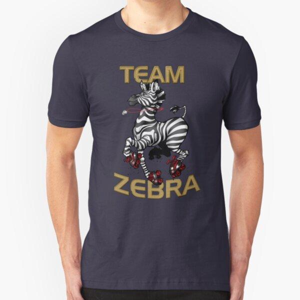 Team Zebra Slim Fit T-Shirt