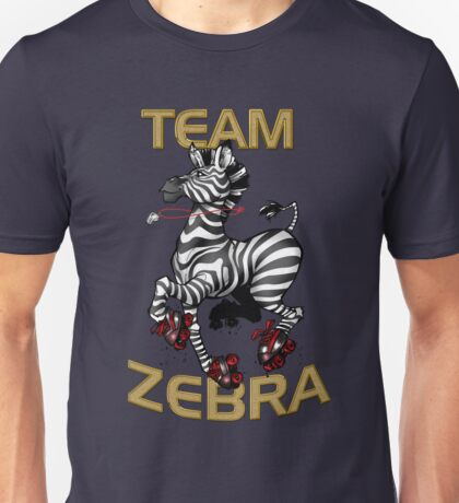 Team Zebra Unisex T-Shirt
