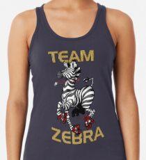 Team Zebra Racerback Tank Top