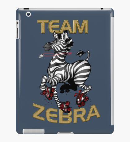 Team Zebra iPad Case/Skin