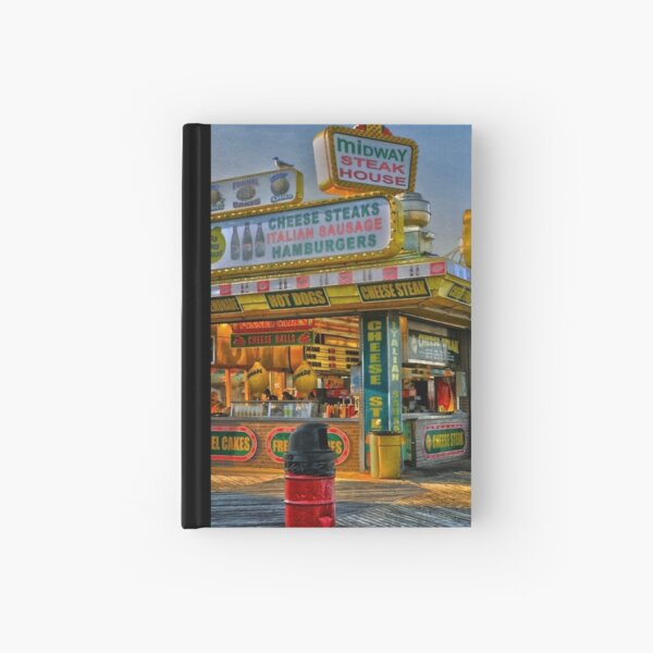 Midway Steak House Hardcover Journal