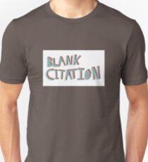 Blank Citation logo (no background) Unisex T-Shirt