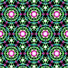 Color Burst Pattern by Dana Roper