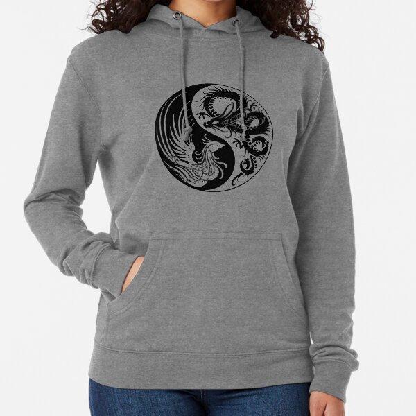 Dragon Phoenix ying yang  Lightweight Hoodie