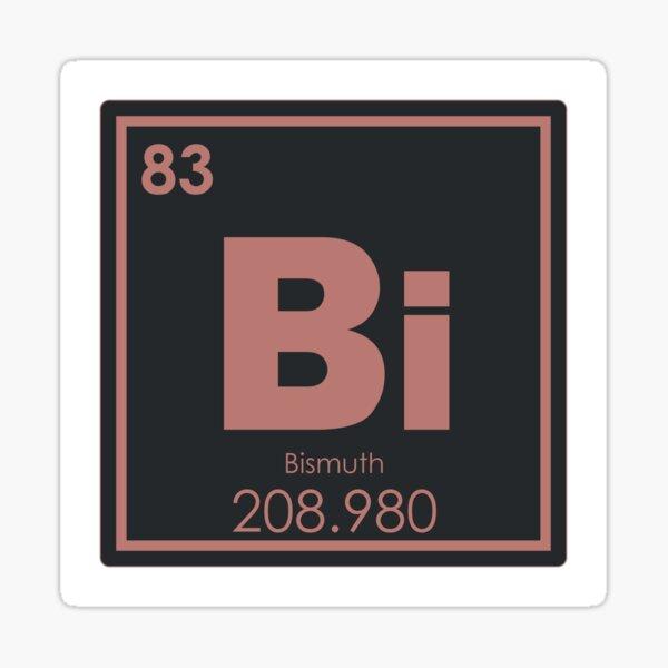 Bismuth Sticker