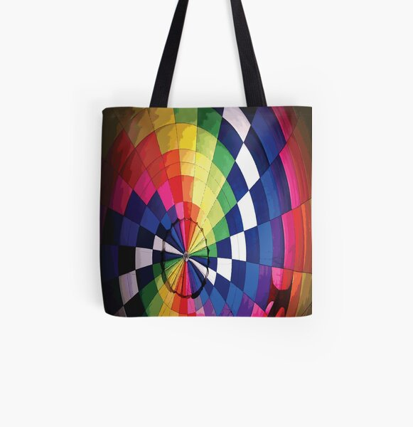 AIRSHIP Pop Art All Over Print Tote Bag