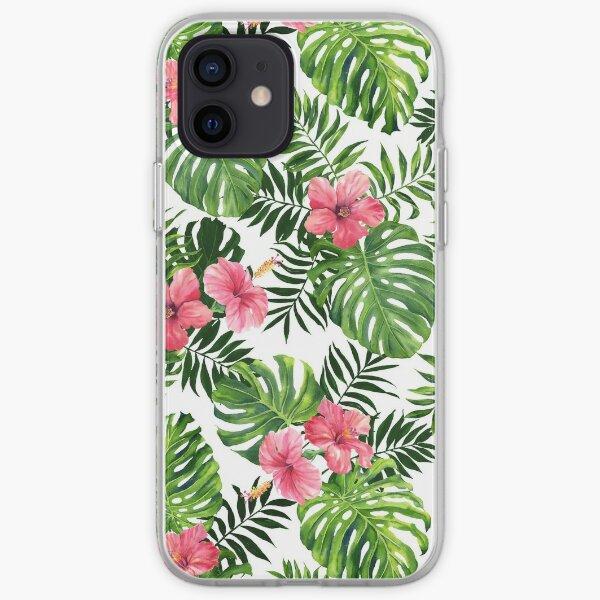 Tropical hibiscus iPhone Soft Case