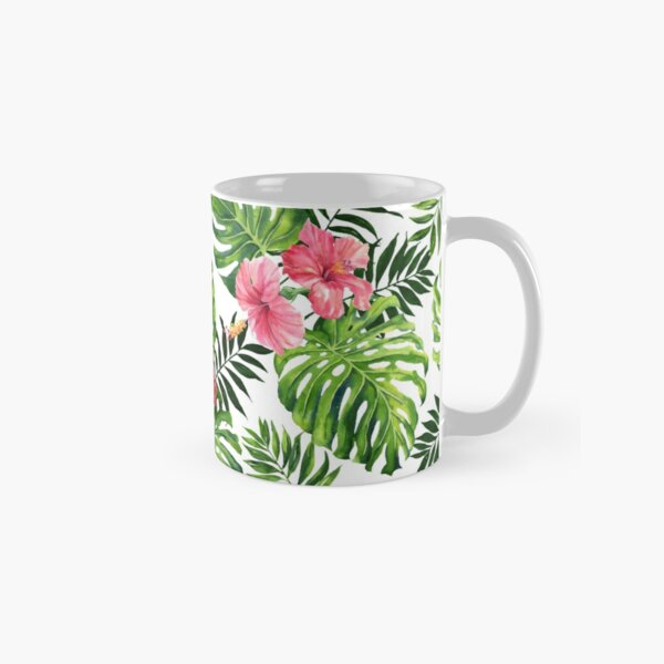 Tropical hibiscus Classic Mug