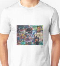 John Lennon Wall in Prague Unisex T-Shirt