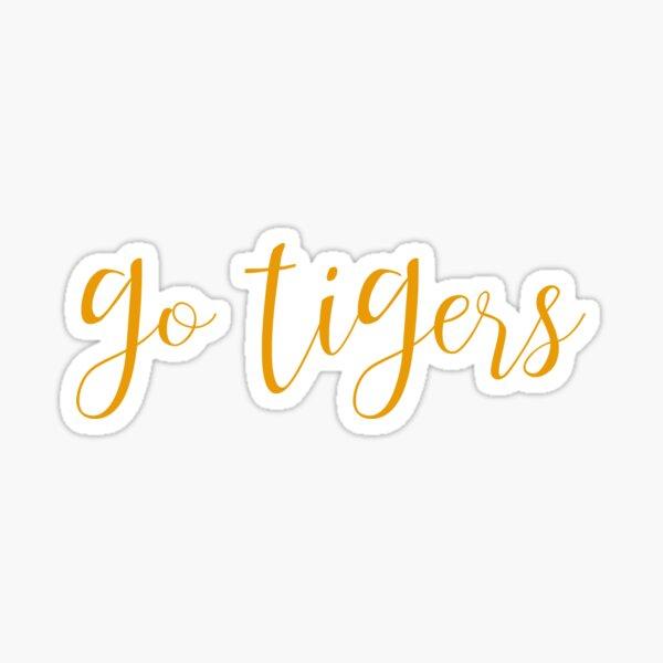 go tigers Sticker