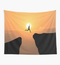 Courageous Man Wall Tapestry