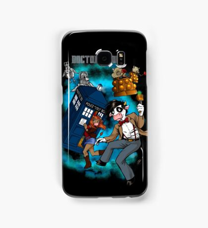 Doctor Moo vs the Baaleks and CyberHens Samsung Galaxy Case/Skin