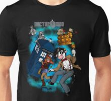 Doctor Moo vs the Baaleks and CyberHens Unisex T-Shirt