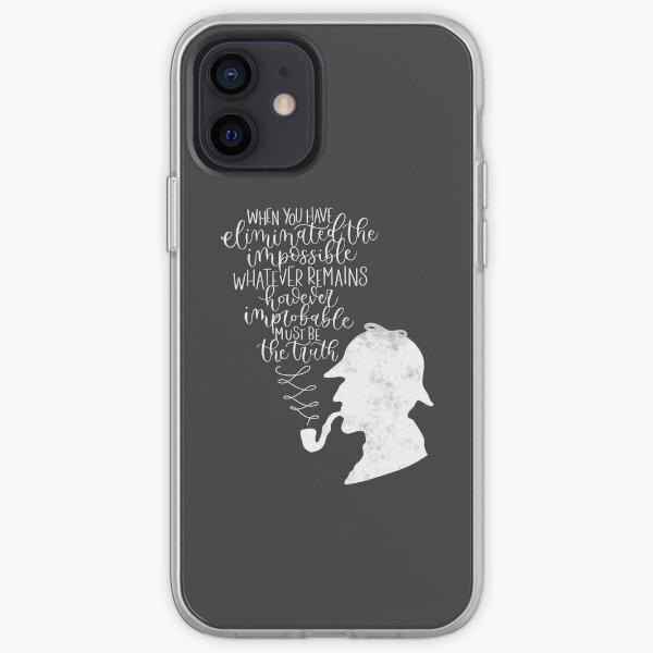 Sherlock Holmes Funda blanda para iPhone