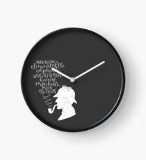 Sherlock Holmes  Clock