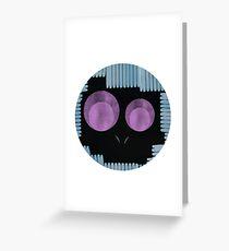 skun skull  Greeting Card