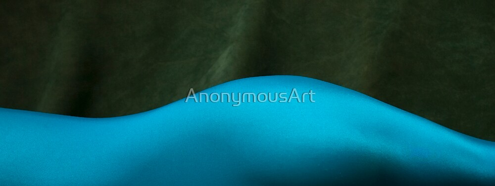 Blue Bodyscape by AnonymousArt