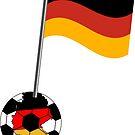 Deutschland-Fußball von Stefanie Keller