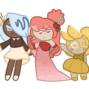 CC Cookie Run - Flowerscouts by asparagus-man