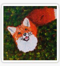 Sweet fox Sticker