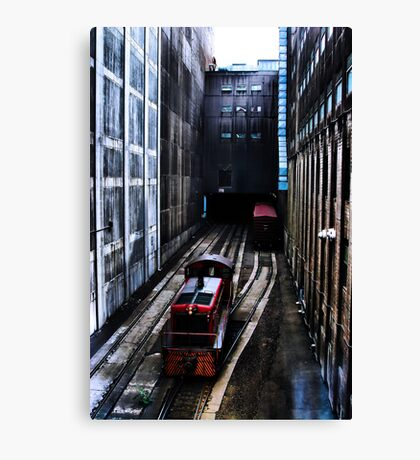Walking Speed Only Canvas Print