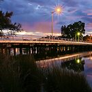 Riverton Bridge by Geoff White