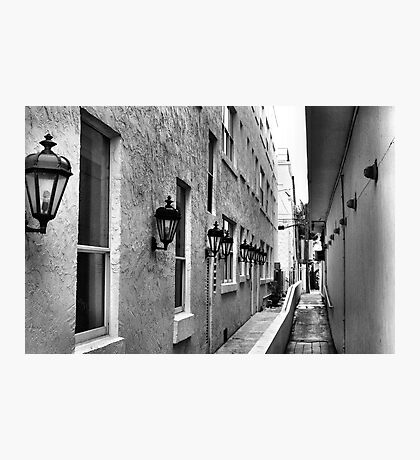 Down an Alley Photographic Print