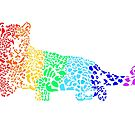 Rainbow Leopard by pinklioness
