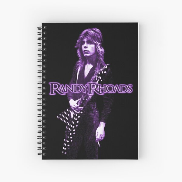 "Randy Rhoads ""Passion""  Spiral Notebook"