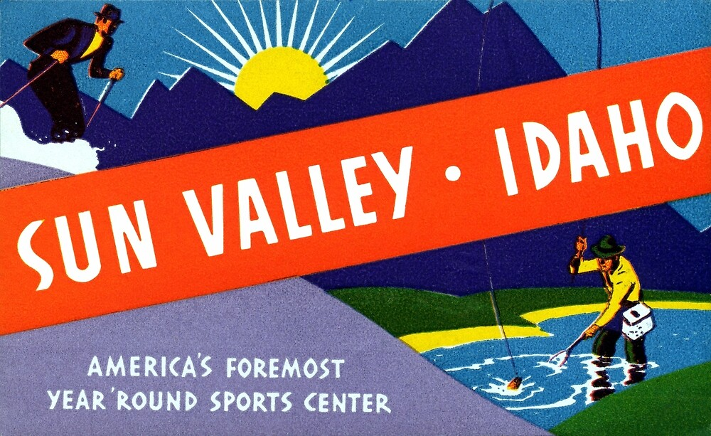 1935 Sun Valley Idaho by historicimage
