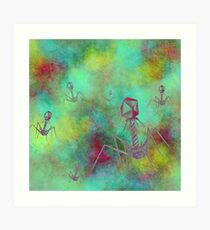 Bacteriophage Invasion  Art Print