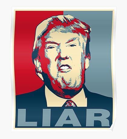 Trump Liar Poster T-shirt Poster