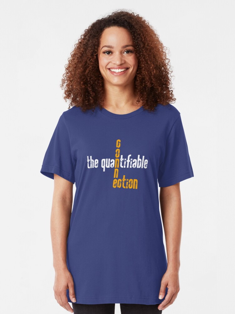 Alternate view of Quantifiable Connection Slim Fit T-Shirt