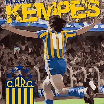 Mario Kempes Rosario Central by AndythephotoDr