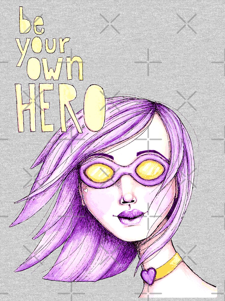 Be Your Own Hero - Purple Version by LittleMissTyne