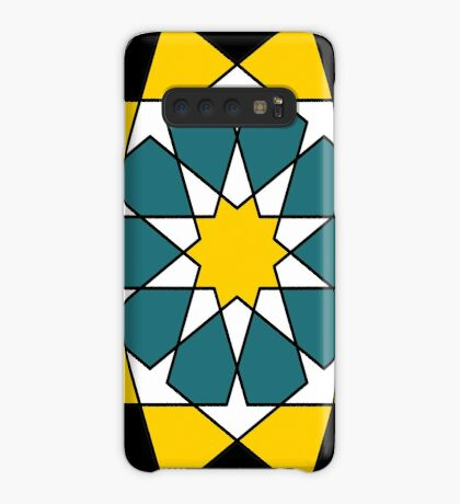 Islamic 10 Pointed Star  Case/Skin for Samsung Galaxy