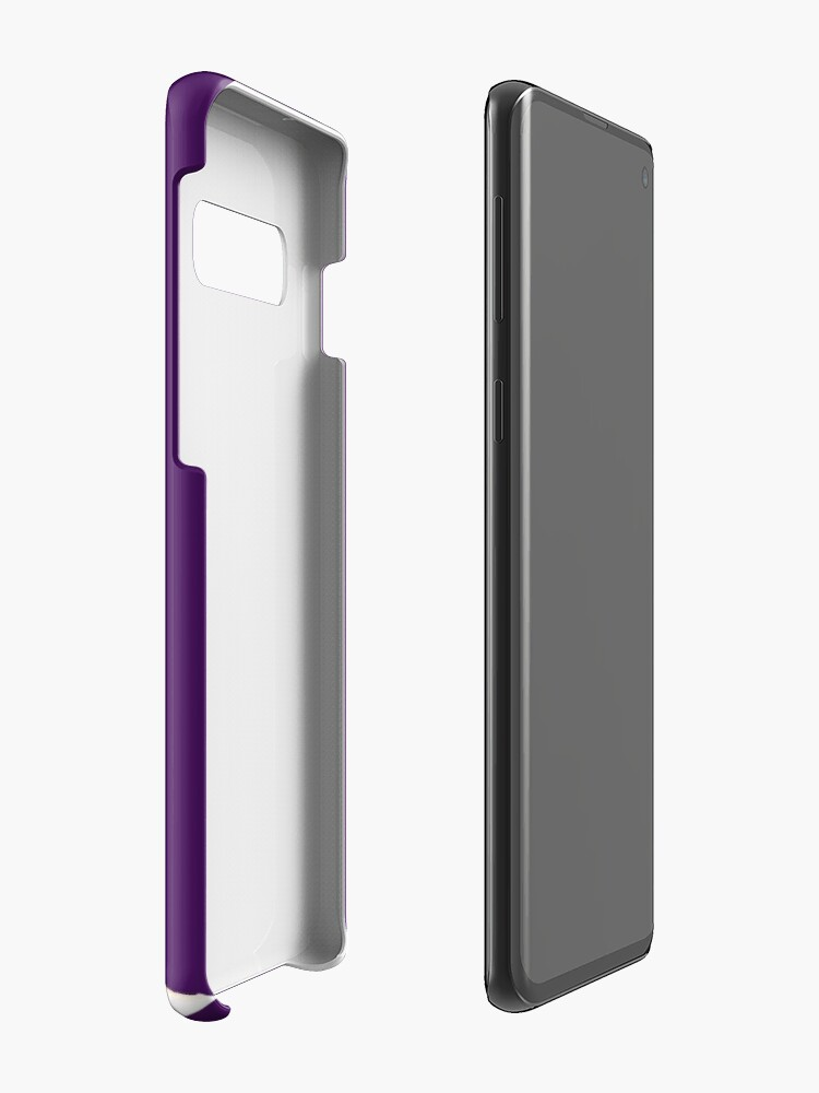 Alternate view of Be Your Own Hero - Purple Version Case & Skin for Samsung Galaxy