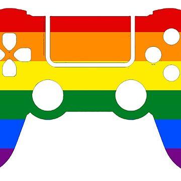 Gaymer - Gay Pride PS4 by ay-zup
