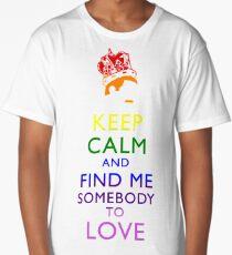 Freddie Mercury Keep Calm Long T-Shirt