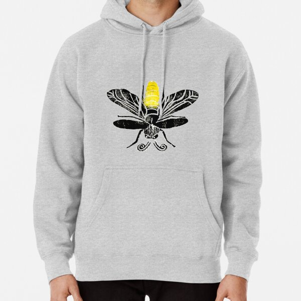 Fire Fly Lightning Bug Delight By Rafi Perez Pullover Hoodie