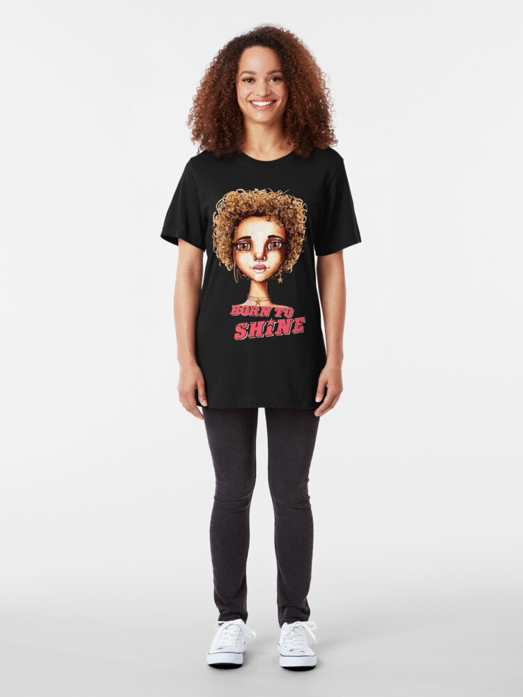 Alternate view of Born to Shine Slim Fit T-Shirt