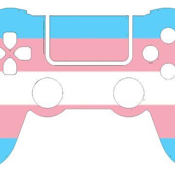 Gaymer - Transgender Pride PS4 by ay-zup