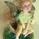Green Little fairy in virgin land  by Suryani Shinta
