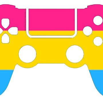 Gaymer - Pansexual Pride PS4 by ay-zup
