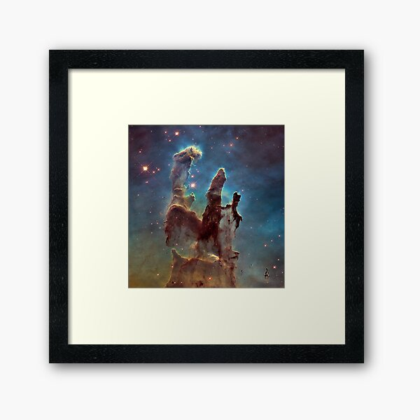 Eagle Nebula - The Pillars of Creation Framed Art Print