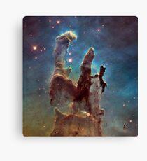 Eagle Nebula - The Pillars of Creation Canvas Print